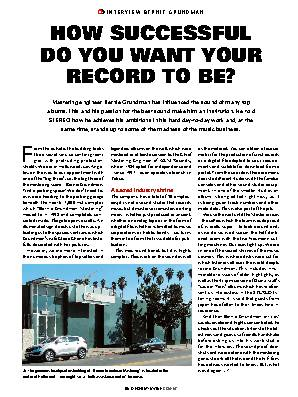 How successful do you want your record to be?