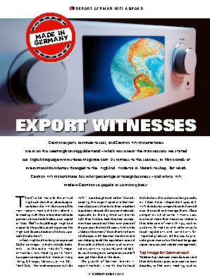 EXPORT WITNESSES