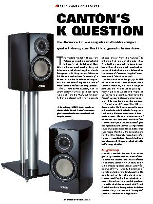 CANTON'S K QUESTION