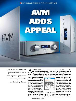 AVM ADDS APPEAL
