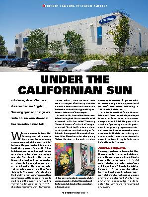 UNDER THE CALIFORNIAN SUN