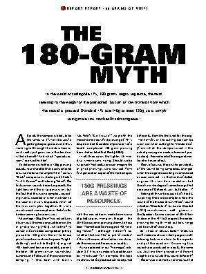The 180-Gram Myth