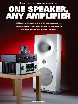 ONE SPEAKER, ANY AMPLIFIER