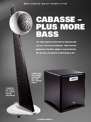 CABASSE – PLUS MORE BASS