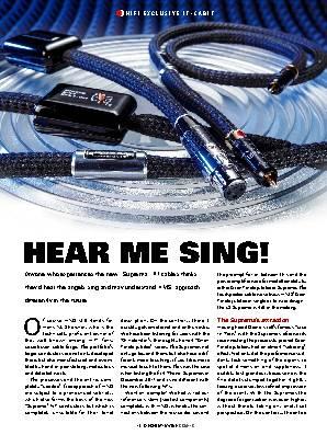 HEAR ME SING!