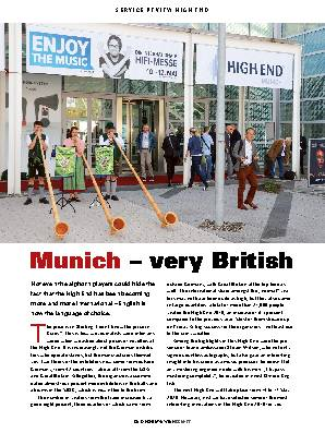 Munich very British