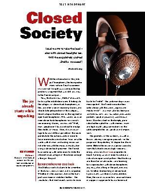 Closed Society