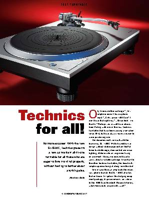 Technics O for all!