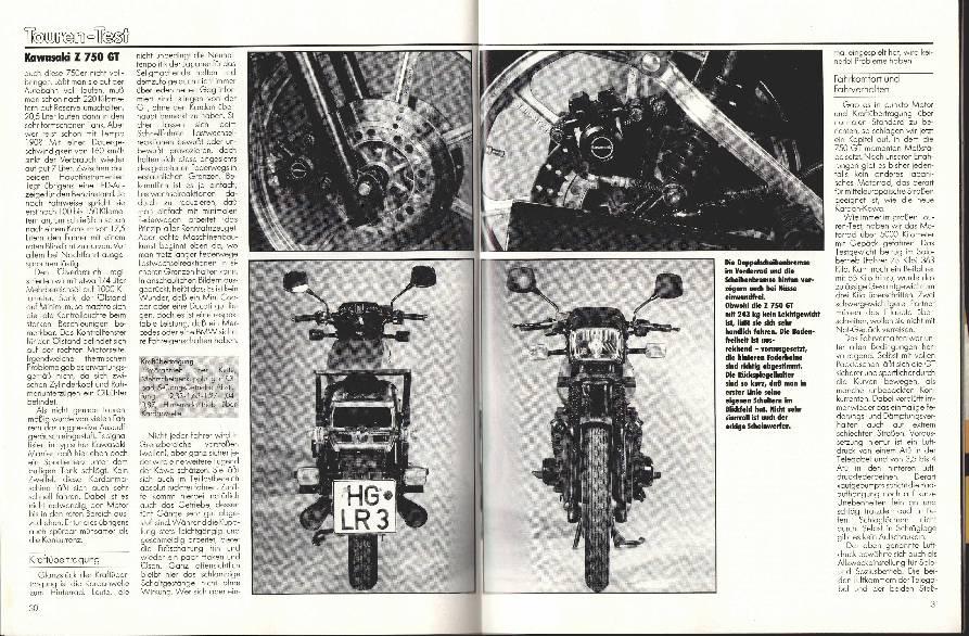 Kawasaki Z 750 GT