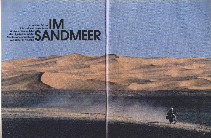 2. Teil Sahara-Reise