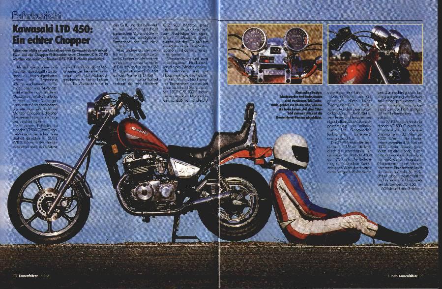 Kawasaki LTD 450 - JAWA 350