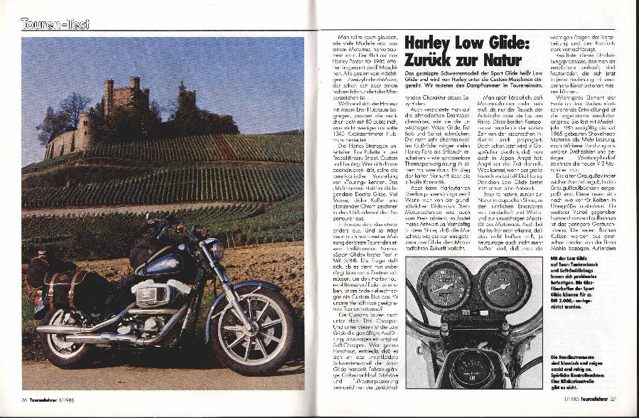 Harley-Davidson Low Glide