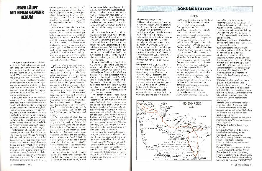 Indien - Auf den Spuren von Max Reisch
