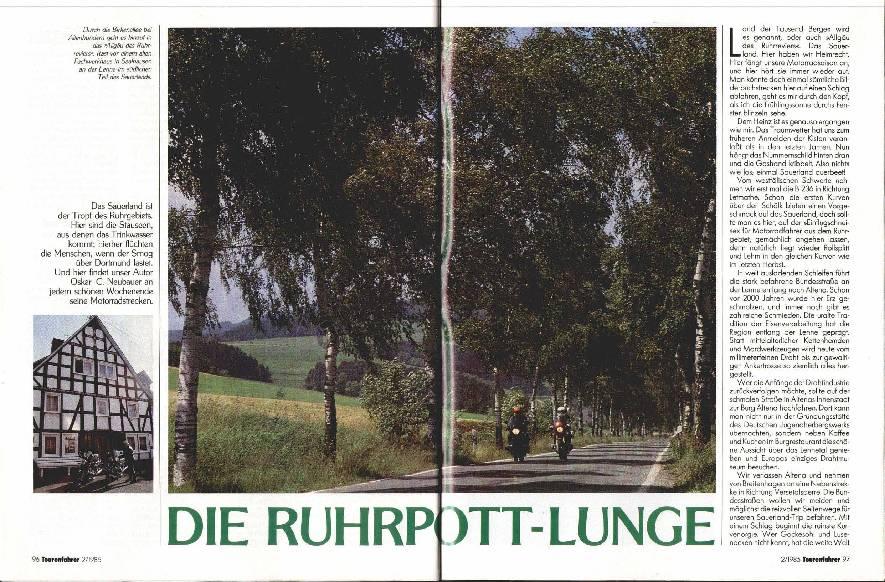 Die Ruhrpott- Lunge