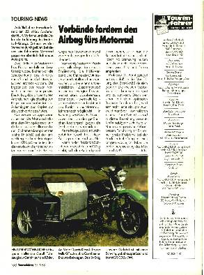 Verbände fordern den Airbag fürs Motorrad