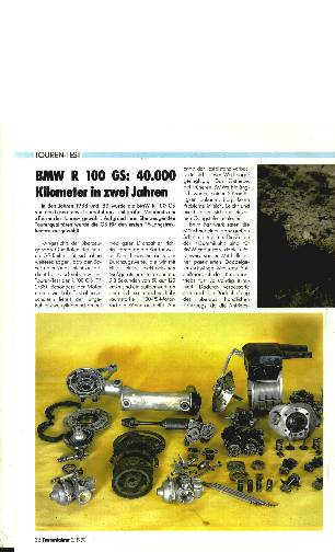 BMW R 100 GS: 40.000 Kilometer in zwei Jahren
