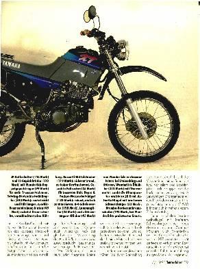 Zubehör für die Yamaha XT 600 E