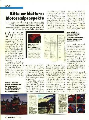 Motorradprospekte