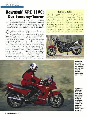 Touring-News- Kawasaki GPZ 1100