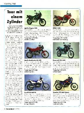 Kawasaki KLR 650/Yamaha XT 600 E