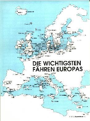 Die wichtigsten Fähren Europas