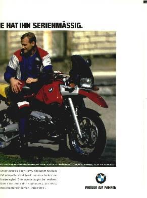 BMW K 75 RT Ultima/Triumph Trophy 900