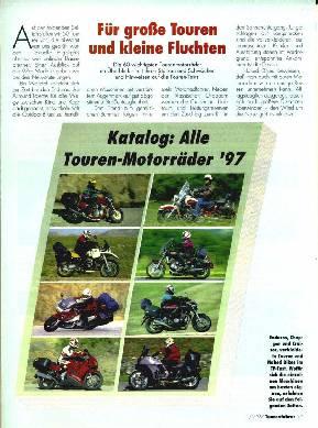 Katalog: Alle Touren-Motorräder '97