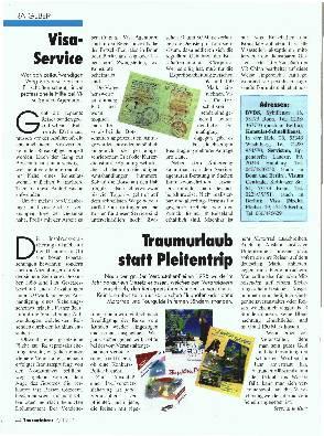 Ratgeber - Visa- Service
