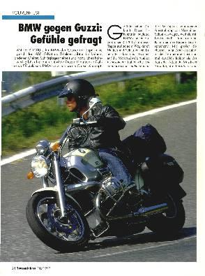 BMW R 1200 C/Moto Guzzi 1100 i EV