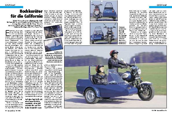 Moto Guzzi California 1100/ Heigl Karat