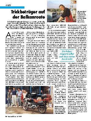 Trickbetrüger auf der Balkanroute