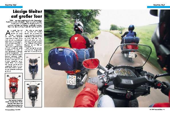 Honda Foresight/Suzuki Burgman 250/Yamaha Majesty DX