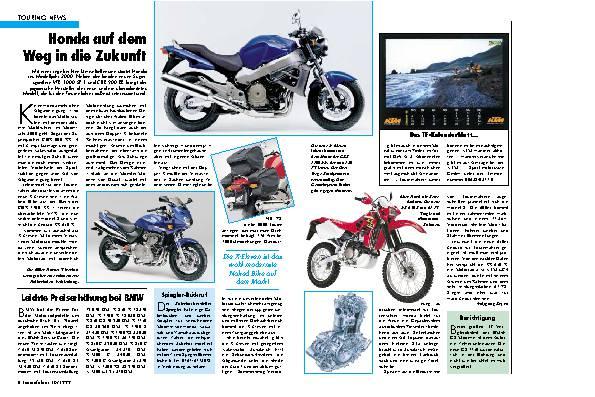 Touring-News Honda auf dem Weg in die Zukunft