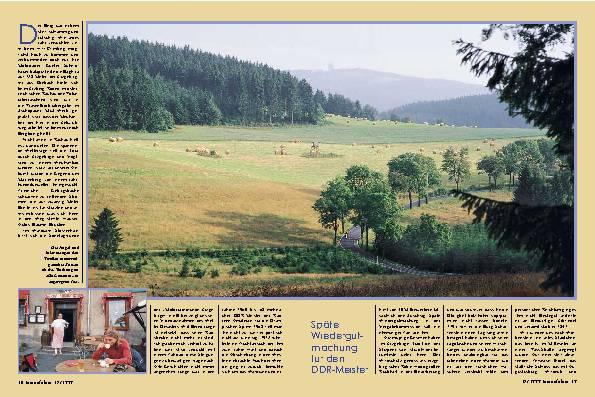 Vogtland und Erzgebirge