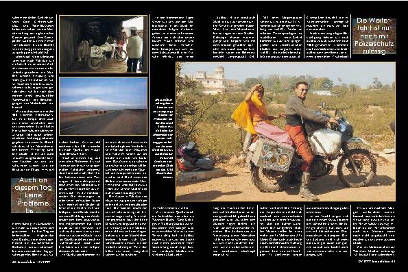 Landweg nach Indien