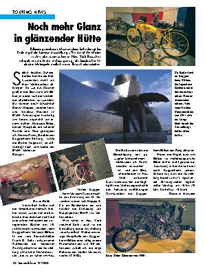 Touring-News Noch mehr Glanz in glänzender Hütte