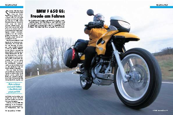 BMW F 650 GS
