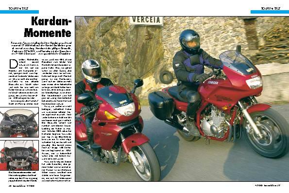 Honda Deauville/Yamaha XJ 900 S Diversion
