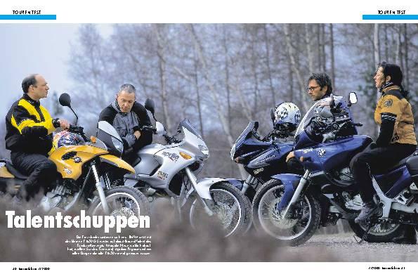 Aprilia Pegaso 650/BMW F 650 GS/BMW F 650/Suzuki XF 650