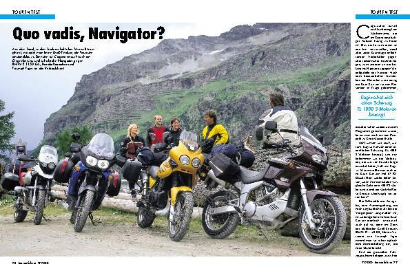 BMW R 1150 GS/Cagiva Navigator/Honda Varadero/Triumph Tiger