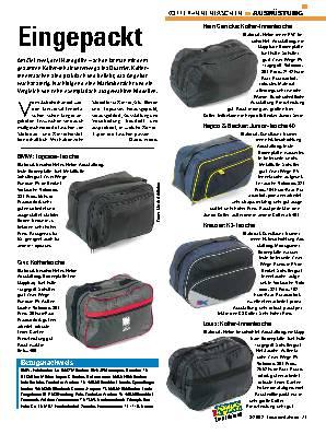 Koffer-Innentaschen