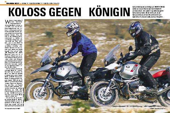 BMW R 1150 GS/BMW R 1150 GS Adventure