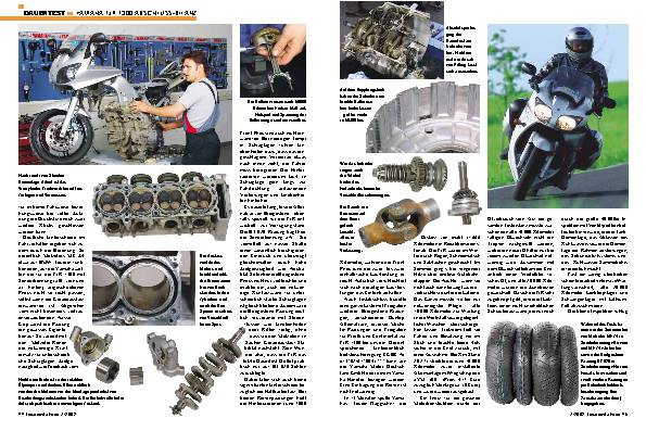 Yamaha FJR 1300 Abschluss-Bilanz