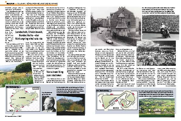 75 Jahre Nürburgring und Sachsenring