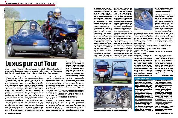WALTER BMW K 1200 LT/KENTECH ROYAL