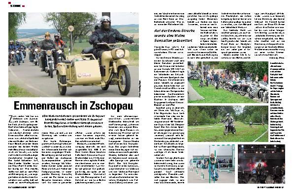 Emmenrausch in Zschopau