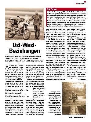 Ost-West Beziehungen