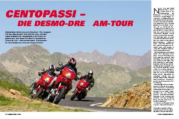 Centopassi - die Desmo-Dream-Tour