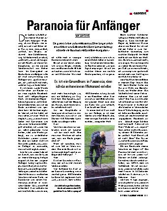 Paranoia für Anfänger
