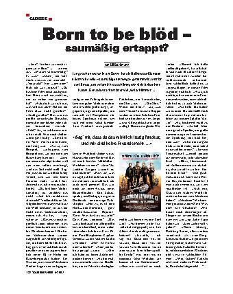Born to be blöd – saumäßig ertappt?
